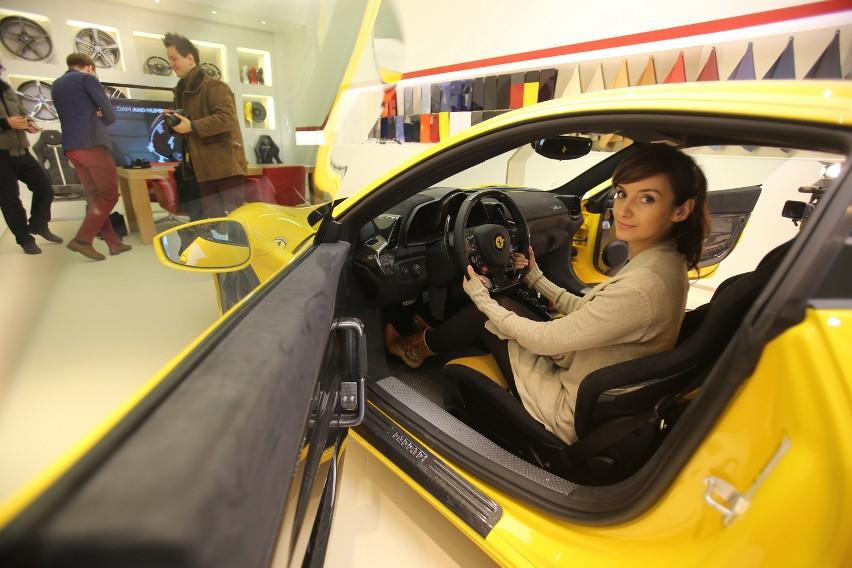 Katowicki salon Ferrari jest jednym z dwóch w Polsce, drugi...