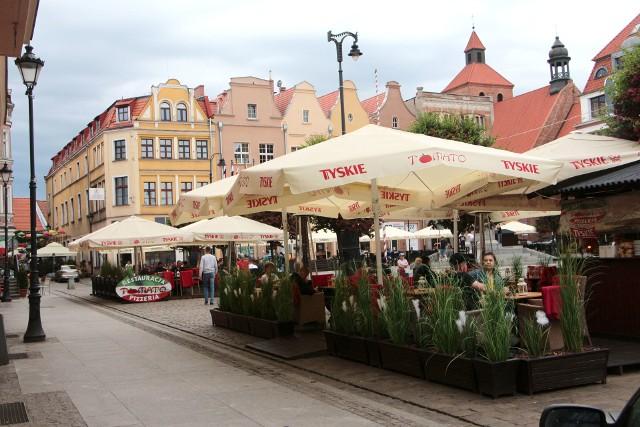 Wzorem lat ubiegłych na grudziądzkim rynku i przyległych uliczkach powstaną plenerowe kawiarenki