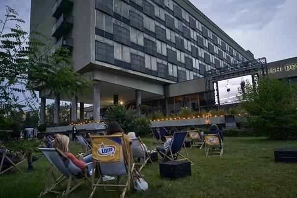 Letnie kino w ArtSferze MNK/fot. Tomasz Markowski