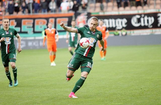 Kamil Dankowski uzbierał dla Śląska Wrocław w Pro Junior System prawie 5 tys. punktów