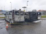 Pożar aut na ulicy Szafranka w Słupsku. Duża nagroda dla osoby, która wskaże sprawców!