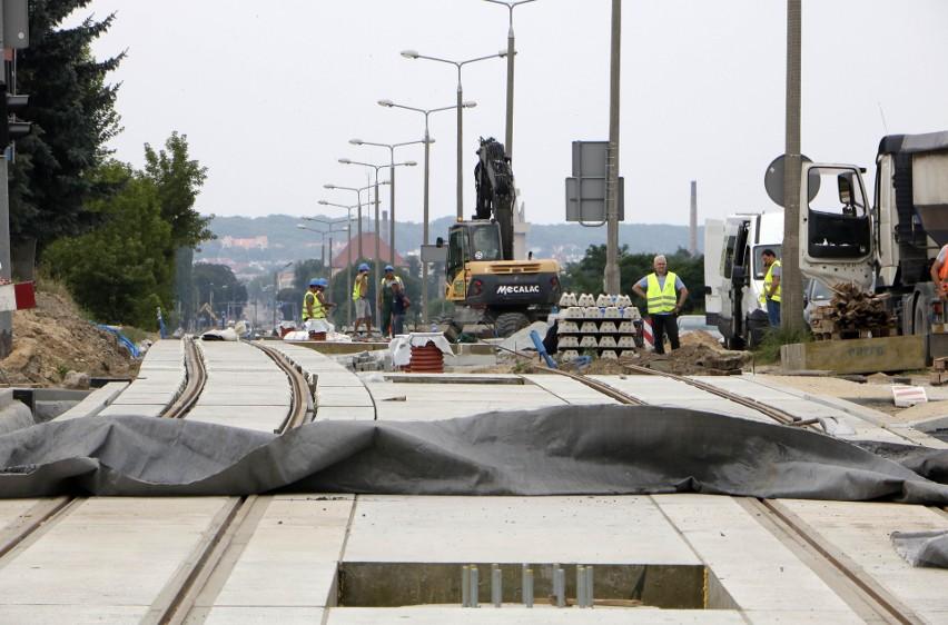 Dobiegają końca prace modernizacyjne sieci tramwajowej przy...