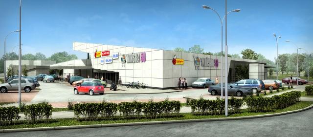 Tak będzie wyglądało centrum handlowe Mińska 58.