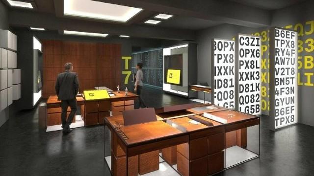 W Centrum Szyfrów nie zabraknie eksponatów związanych z historią rozwiązania tajemnicy Enigmy, ale nie tylko one będą atrakcją.