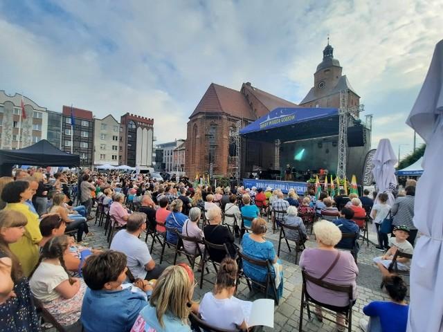 Koncert Meli Koteluk zgromadził wielu mieszkańców Gorzowa.