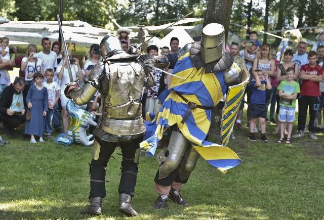 W niedzielę, 5 czerwca, piknik rycerski w Drzonowie ściągnął do tłumy.