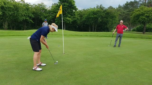 Turniej w Karolinka Golf Park w Kamieniu Śląskim.