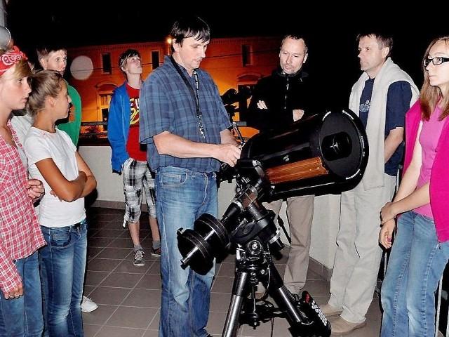 Wyposażenie obserwatorium jest regularnie wykorzystywane