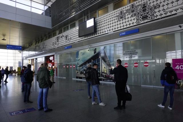 Do zdarzenia doszło we wtorek, 12 listopada na terenie lotniska Ławica.