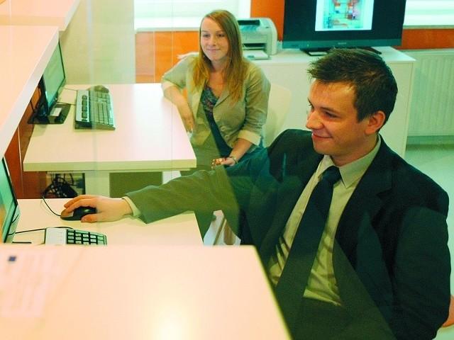 Daniel Dudek jest jednym z laureatów konkursu na biznesplany. Swoją firmę otworzy już w nowym inkubatorze.