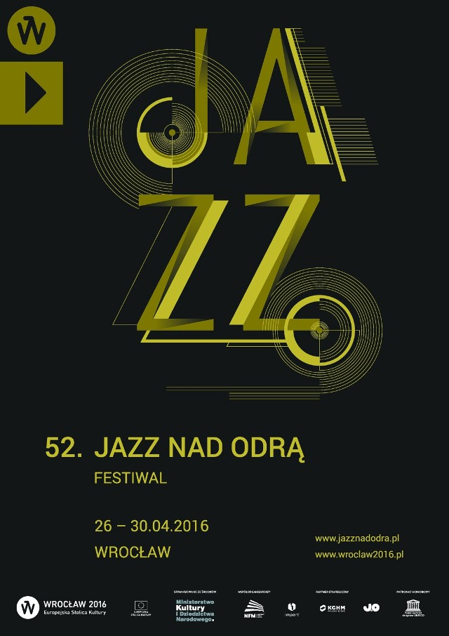 Jazz nad Odrą – plakat edycji 2016 roku
