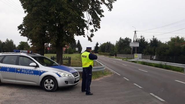 """Policjanci z Golubia-Dobrzynia regularnie prowadzą akcję """"Prędkość"""""""