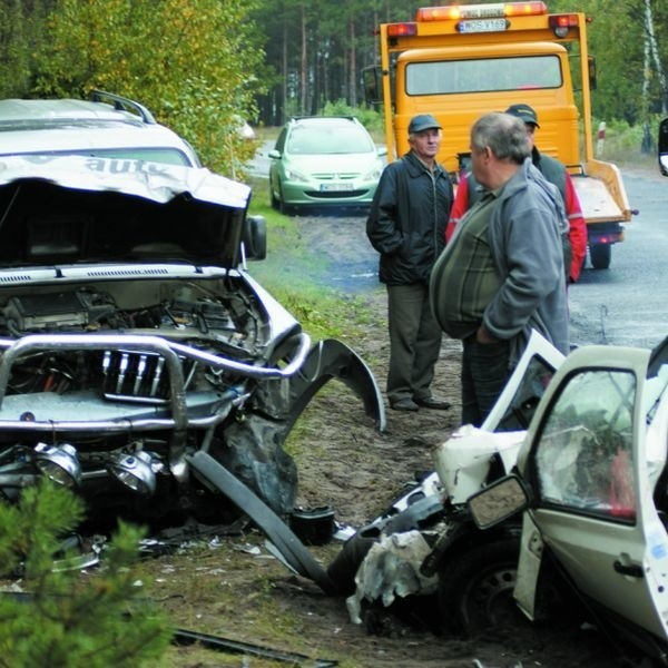 W wyniku zdarzenia zginął kierowca golfa