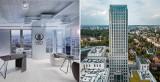 Kraków. Powstaje piętro pokazowe w wieżowcu Unity Tower. A co z tarasem widokowym? [ZDJĘCIA, WIZUALIZACJE]