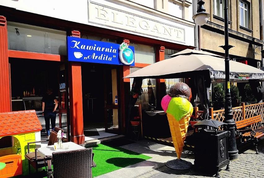 Kawiarnia Ardita jest od niedawna na ul. Jagiellońskiej. Jej  propozycja to lody według włoskiej receptury