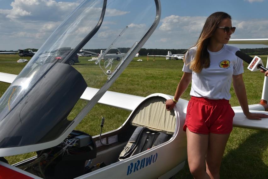 Kinga Tchorz, wychowanka Aeroklubu Nadwiślańskiego w Lisich...