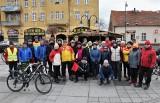 Turyści z Kruszwicy, Inowrocławia i Radziejowa wjechali w Nowy Rok na rowerach [zdjęcia]