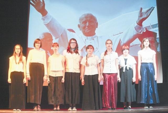 W wydarzeniu wzięły udział m.in. uczennice Publicznego Integracyjnego Gimnazjum nr 17 w Białymstoku