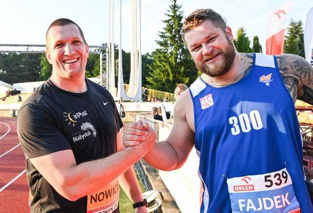 Wojciech Nowicki i Paweł Fajdek kilka dni temu stoczyli ciekawy bój na mistrzostwach Polski. Zanim będą rywalizować o złoty medal w Tokio zmierzą się jeszcze w środę w Memoriale Ireny Szewińskiej w Bydgoszczy