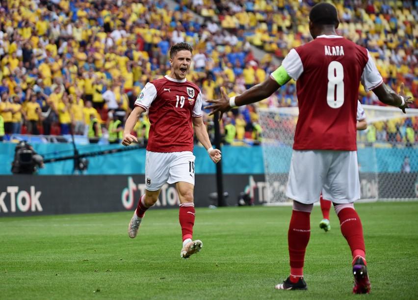 Euro 2020. Austria pokonała Ukrainę. W 1/8 finału zagra z Włochami!