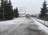 Duży wyciek w dawnym Elmilku w Szczecinku. Służby opanowały sytuację
