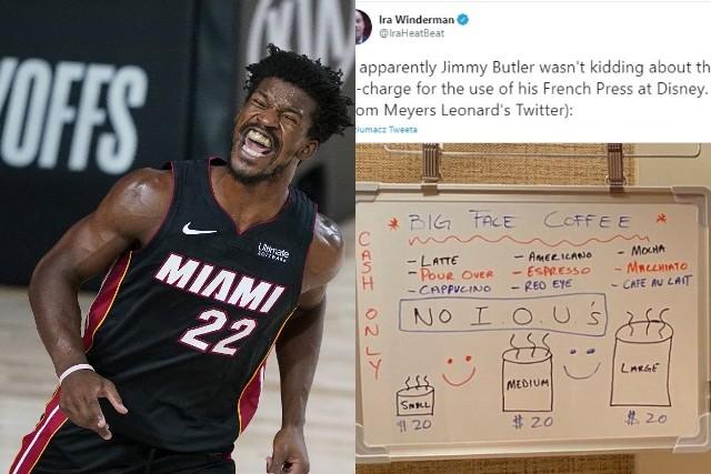 Lider Miami Heat na boisku jest głową węża, poza nim... sprzedaje kawę