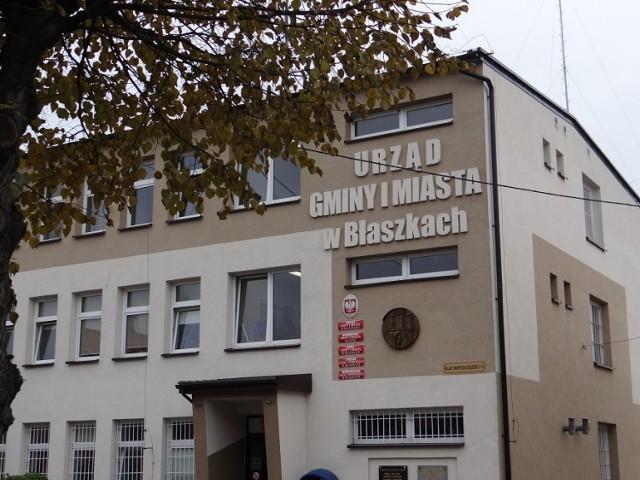 Urząd Gminy i Miasta Błaszki powinien zmienić nazwę