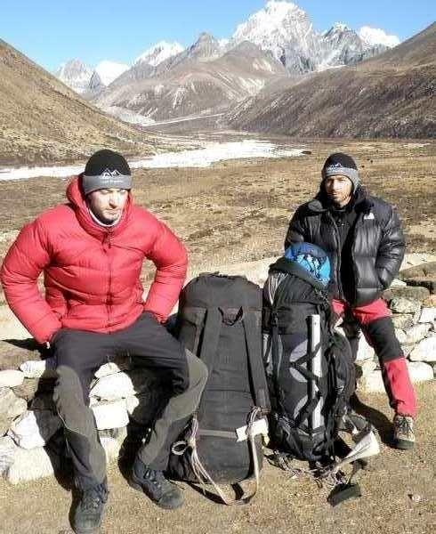 Grzegorz Kukurowski i Jarosław Skowron na wysokości 4,2 tys m