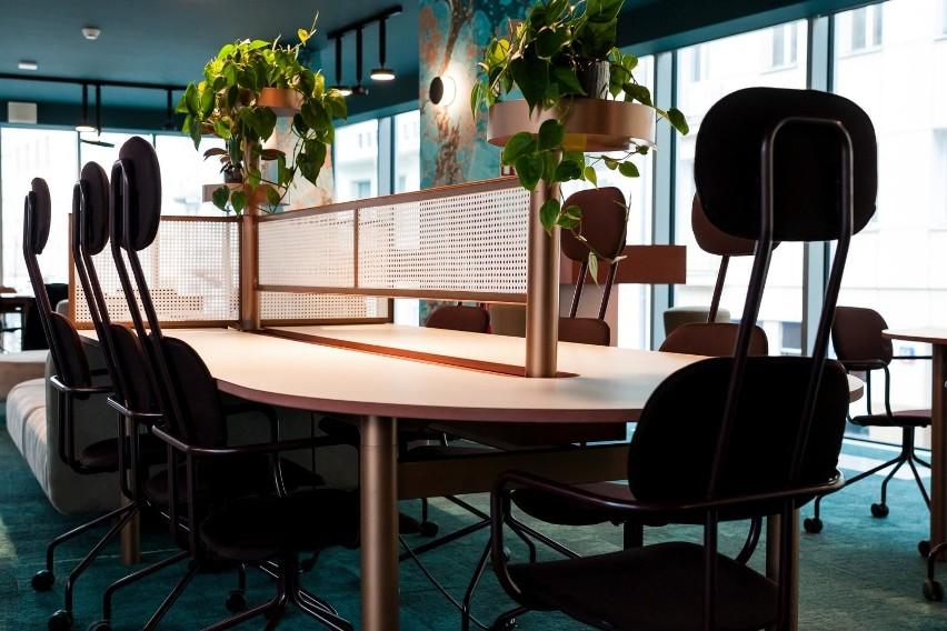 W pierwszej trójce najistotniejszych elementów przestrzeni biurowej znajdują się: własne biurko (61 proc.), możliwość ręcznego dostosowania temperatury lub klimatyzacji (58 proc.) oraz dobrze wyposażona kuchnia (53 proc.).