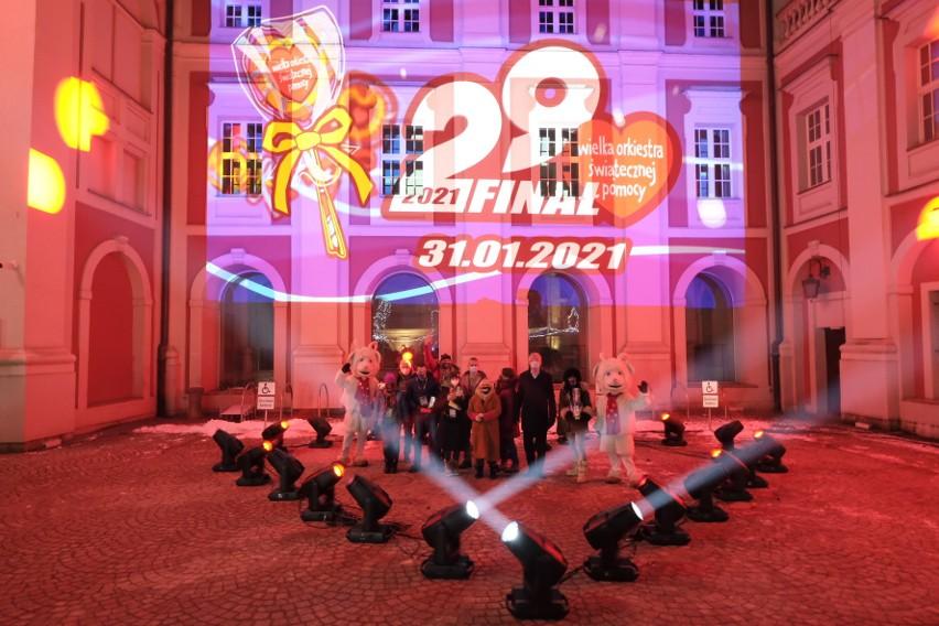Tradycyjnie zwieńczeniem finału WOŚP było wysłanie Światełka...
