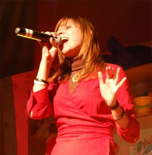 Magda Kucharska w koncercie laureatów festiwalu w Wierzchowie.
