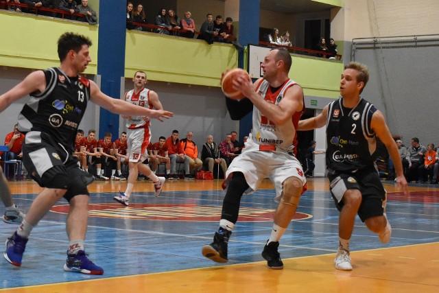 Mecz Tur Basket Bielsk Podlaski - Sokół Ostrów Mazowiecka