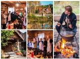 Karol Okrasa w Ziołowym Zakątku w Korycinach uczył gotować dyplomatów z całego świata (zdjęcia)