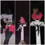 Nastolatki urządziły sobie imprezę na... cmentarzu. Zdjęcia trafiły na Facebooka