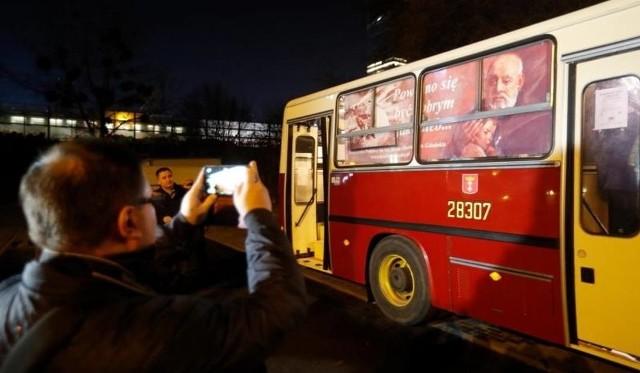Autobus SOS wyjechał w swój pierwszy kurs po Gdańsku na początku grudnia 2017 roku