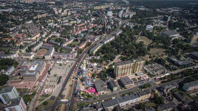 Dąbrowa Górnicza potrzebuje nowoczesnej przestrzeni miejskiej