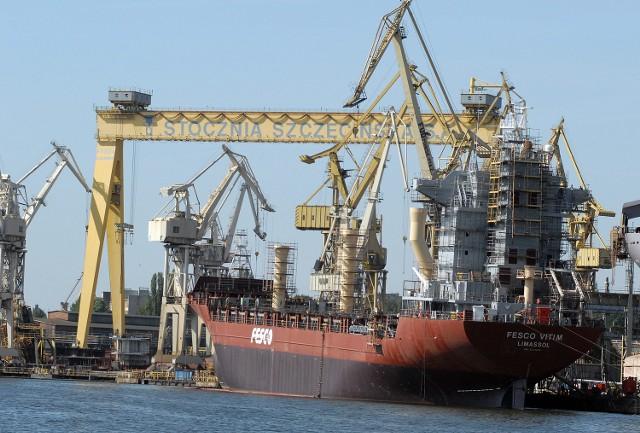Fot. Marcin Bielecki Stoczniowcy wierzą, że to nie koniec budwoania statków w Szczecinie.