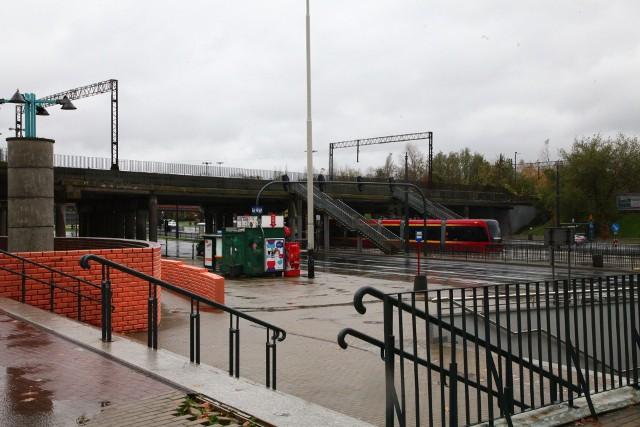 Wiadukt przy dworcu Kaliskim. PKP PLK ma w ciągu 3 miesięcy złożyć wniosek o dofinansowanie wiaduktu wschodniego przy stacji Łódź Kaliska