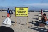 Sopot w strefie zagrożenia ptasią grypą! Żółte tablice ostrzegawcze w kurorcie