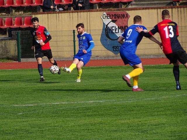 W zaległy meczu IV ligi piłki nożnej Chełminianka Chełmno podzieliła się punktami z Lechem Rypin