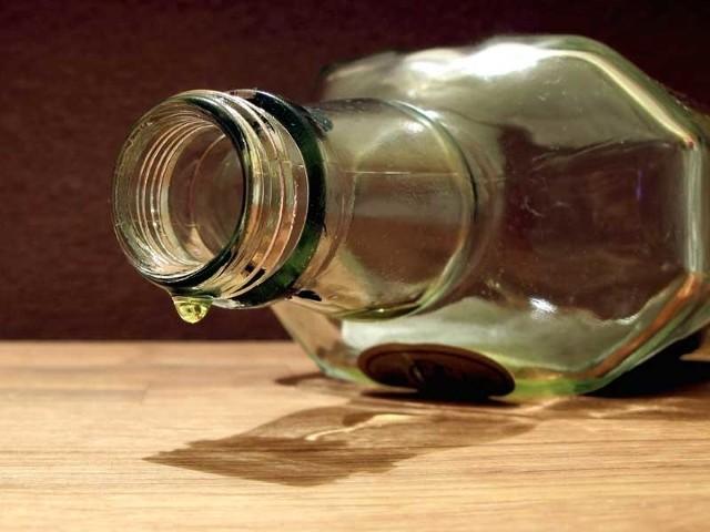 Mężczyzna miał 4 promile alkoholu w wydychanym powietrzu.