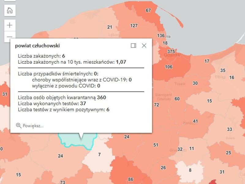 Koronawirus na Pomorzu 4.04.2021. 1273 nowe przypadki zachorowania na Covid-19 w województwie pomorskim. Zmarło 5 osób