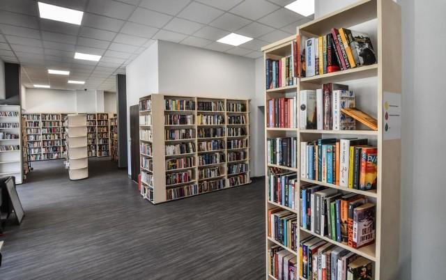 Czytelnicy znów mogą korzystać z bibliotecznych zbiorów