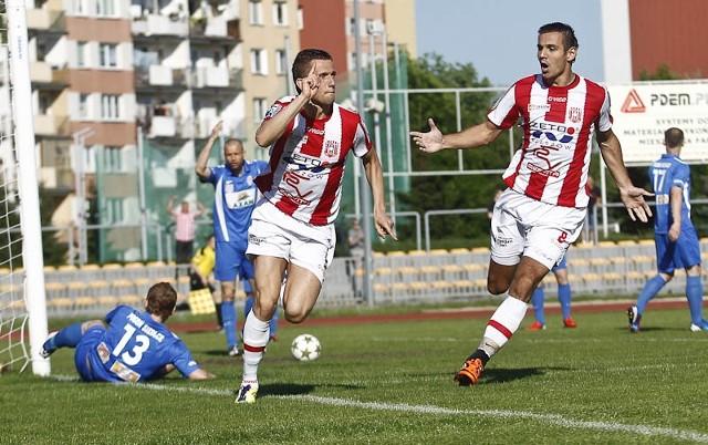 Resovia Rzeszów - Pogoń Siedlce 2:0.Resovia Rzeszów pokonała na własnym stadionie Pogoń Siedlce 2:0.