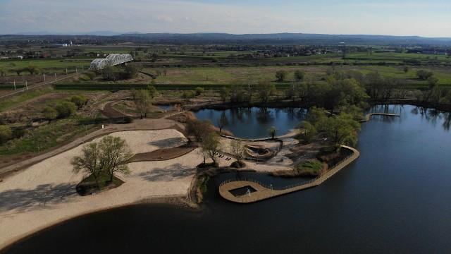 Tak zrewitalizowane kąpielisko wygląda z lotu ptaka
