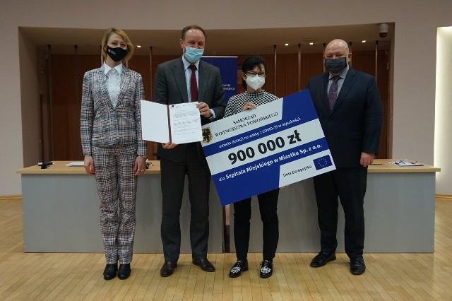 900 tysięcy złotych unijnych pieniędzy otrzymał Szpital Miejski w Miastku na zakup tomografu. Wcześniej placówka dostała sprzęt z rządowej Agencji Rezerw Strategicznych.