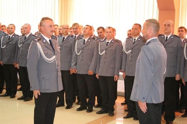 Tylu policjantów nigdy w Andrzejewie nie było.