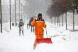 Poniedziałkowa śnieżyca nie miała zamiaru odpuścić również po południu. Zobacz zdjęcia