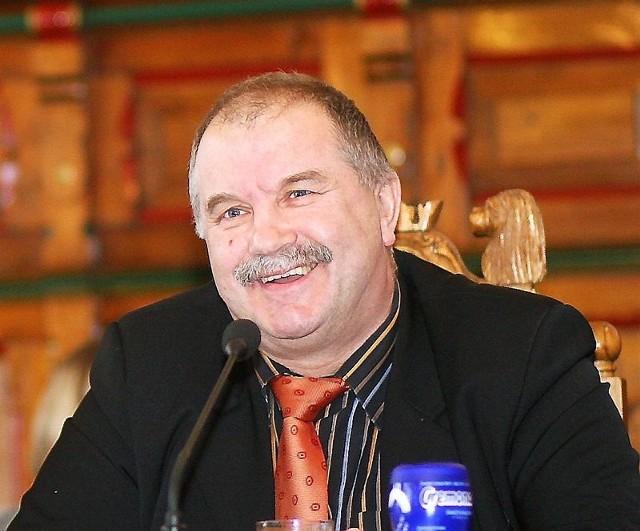 Andrzej Mielke ma powody do zadowolenia, bo jest najlepszy w naszym plebiscycie w powiecie chojnickim