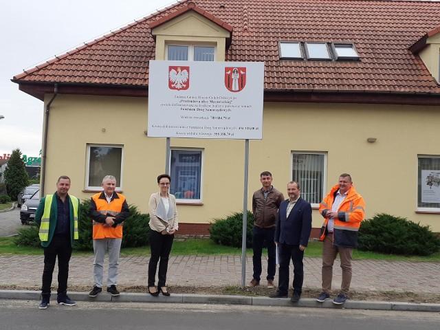 Przed kilkoma dniami dokonano odbioru przebudowy ulicy Mazowieckiej